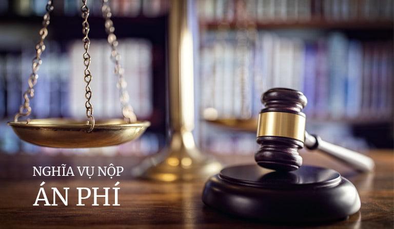 Nghĩa vụ nộp án phí dân sự trong tranh chấp hành chính